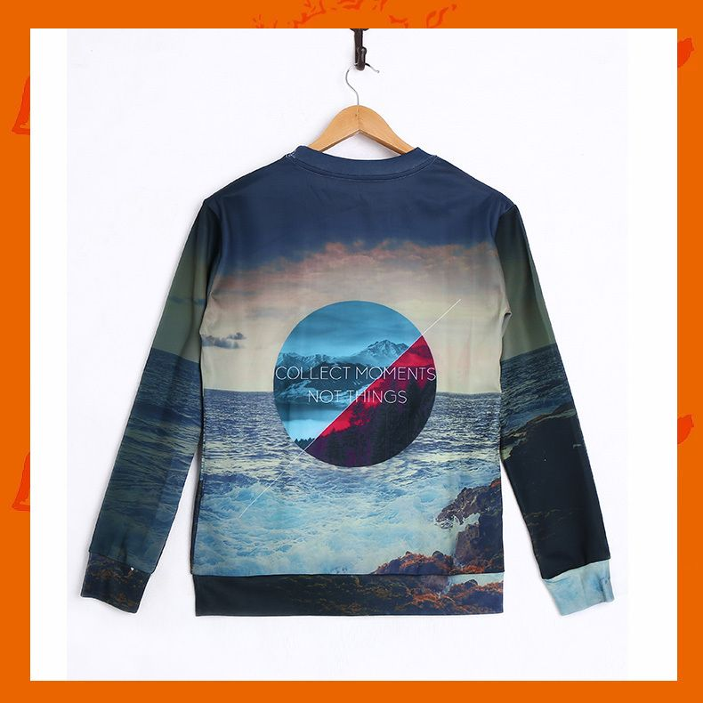 Landscape Hoodie Material: Polyester / Cotton Feature: Anti-Pilling, Anti-Shrink, Anti-Wrinkle, Breathable, Eco-Friendly, Plus Size, Quick Dry, Windproof Size: S/M/L