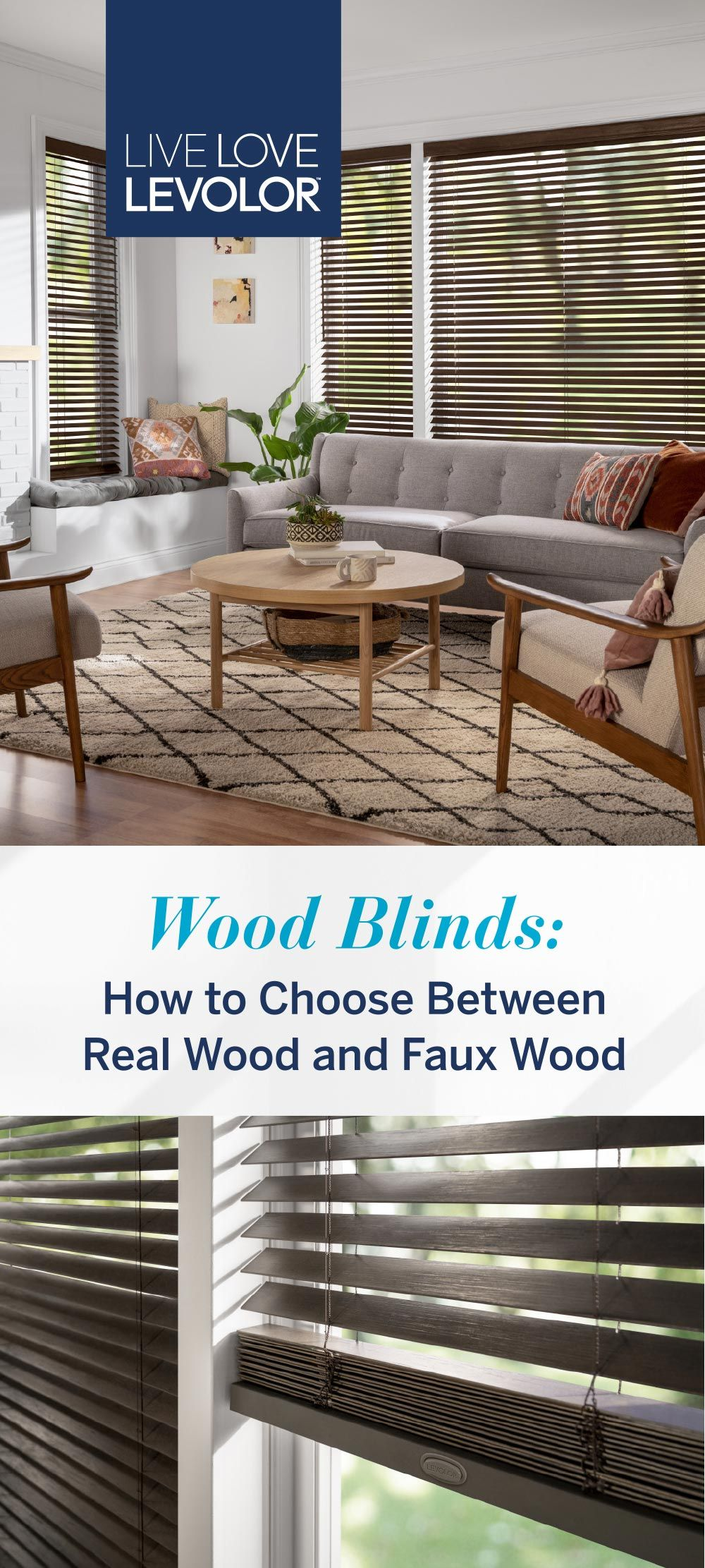 What S The Difference Between Levolor Real Wood And Faux