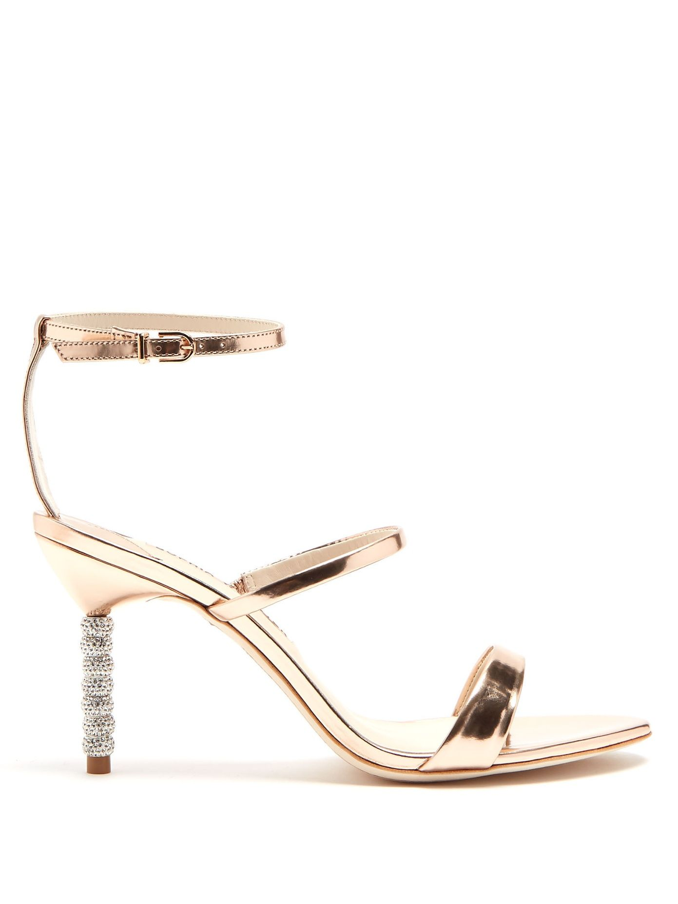 cc7394b8a00 Click here to buy Sophia Webster Rosalind crystal embellished-heel leather  sandals at MATCHESFASHION.COM