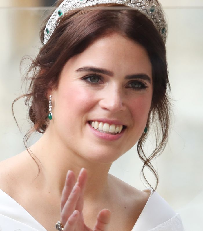 Princess Eugenie Wore The Royal Family S Favorite Nail Polish On Her