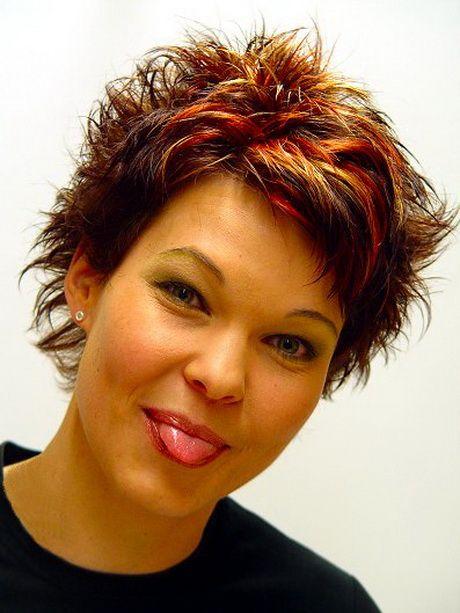 Aktuelle Frisuren Kurze Haare Gefärbte Haare Pinterest Meg