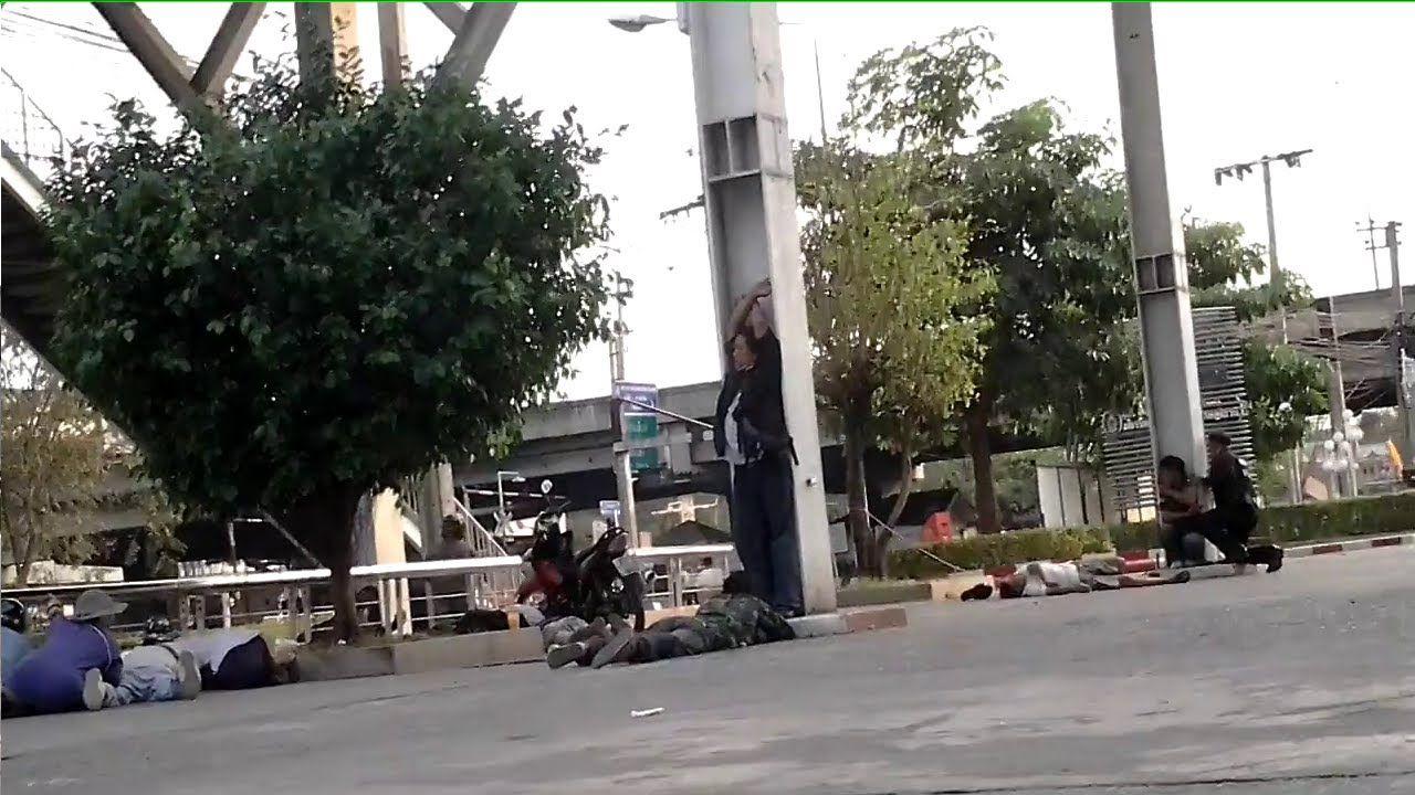 กปปส. ยิงใส่คนเสื้อแดงกับตำรวจ เหตุการณ์ที่แยกหลักสี่
