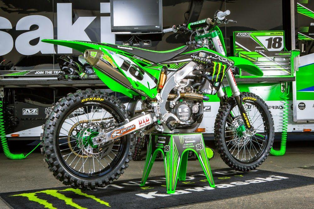 Kawasaki KX-450F Team Monster Energy Kawasaki - Supercross ...