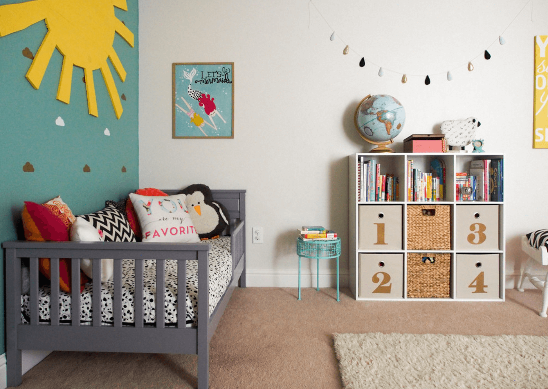 28 Whimsical Ways We Add Color To A Kids Room Small Boys Bedrooms Kid Room Decor Home Decor