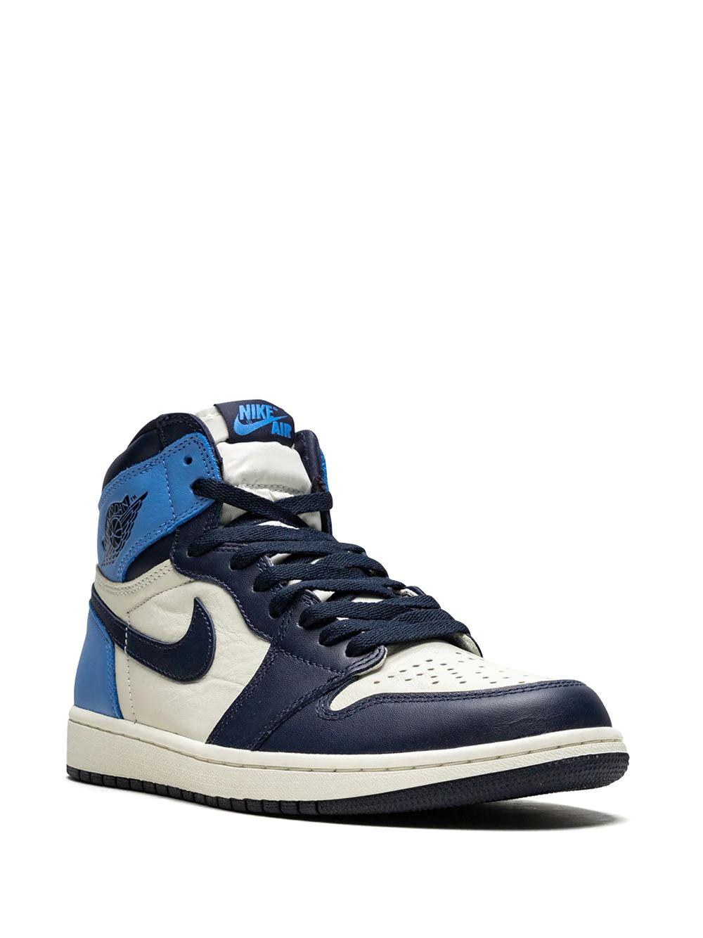 Air Jordan 1 Retro High Og Obsidian University Blue Nike Jordans Jordan Air Jordan 1 Retro High Og Obsidian University Blue Farfetch In 2020 Air Jordans Jordan 1 Retro High Jordan 1
