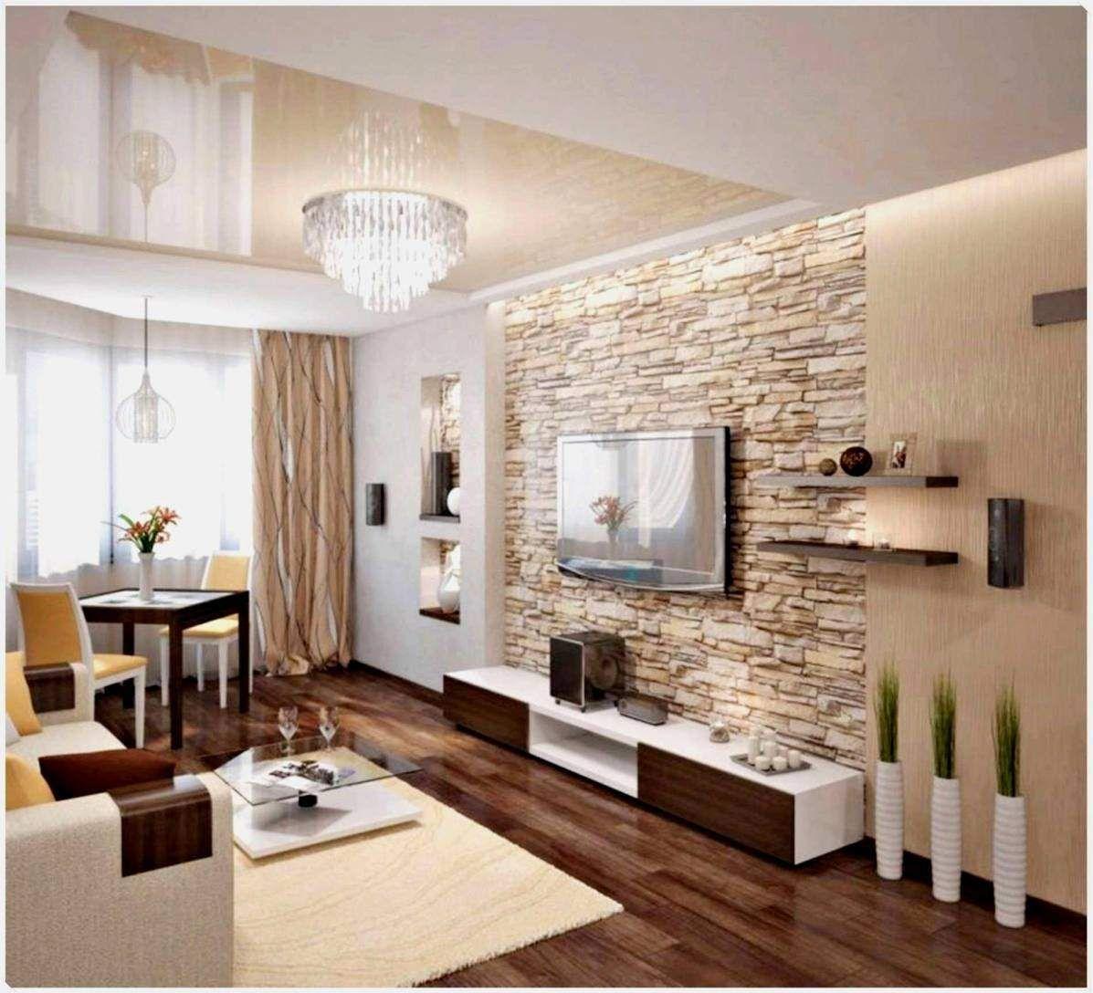 6 Schönes Wohnzimmer Beispiele Wandgestaltung in 6  Stone