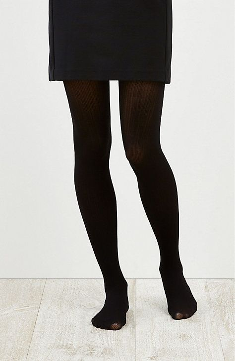 e760649634c Lightweight Ribbed Tights - Luxurious ribbed tights. Nylon and spandex.