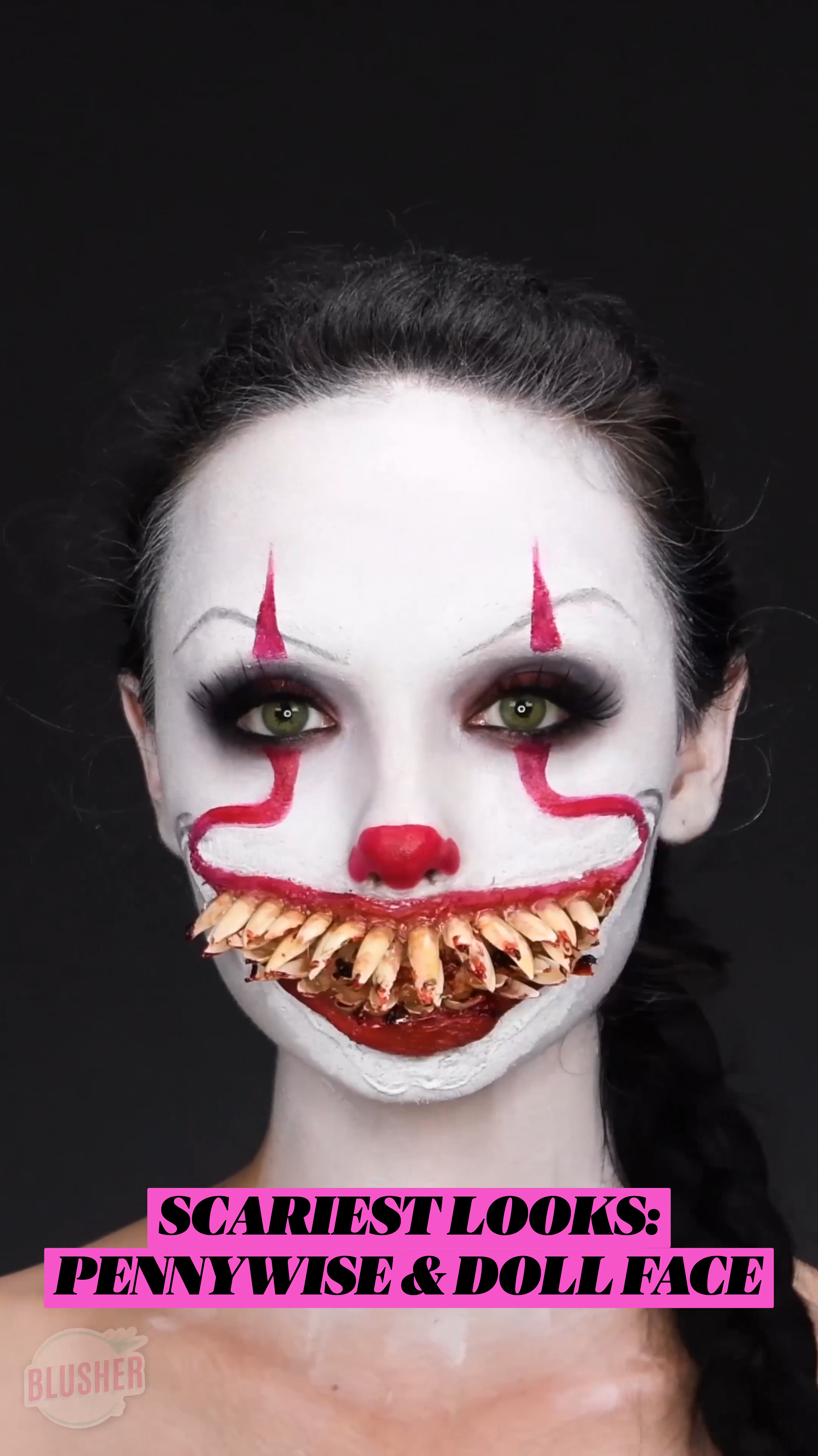 SCARIEST LOOKS: PENNYWISE & DOLL FACE