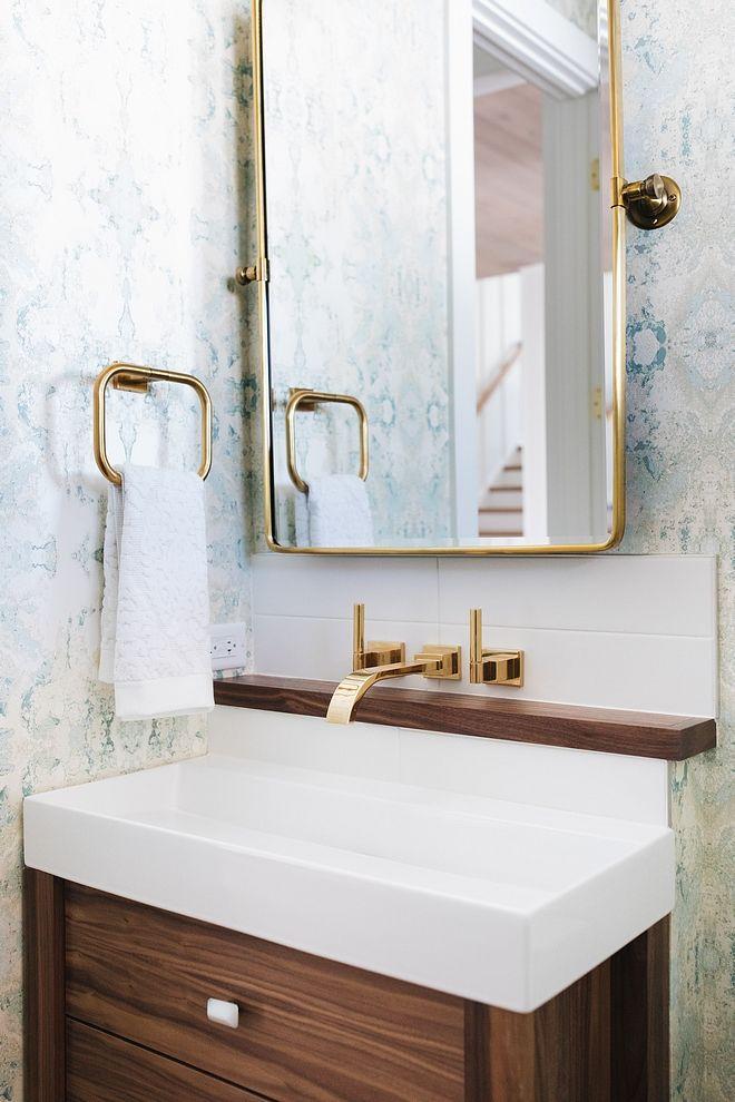 Brass wall mount faucet Bathroom Brass wall mount faucet Brass wall ...