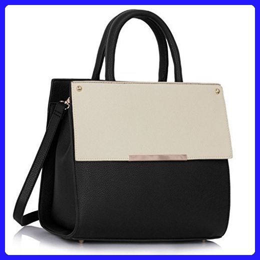 Womens Designer Handbags Ladies Celebrity Style Faux Leather Large Tote Bag New