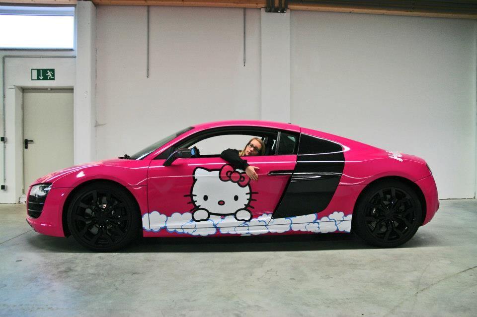 best sneakers c05cc 8bfbb hello kitty pink   Vinil de corte para rotular autos combinado con vinil de  impresión
