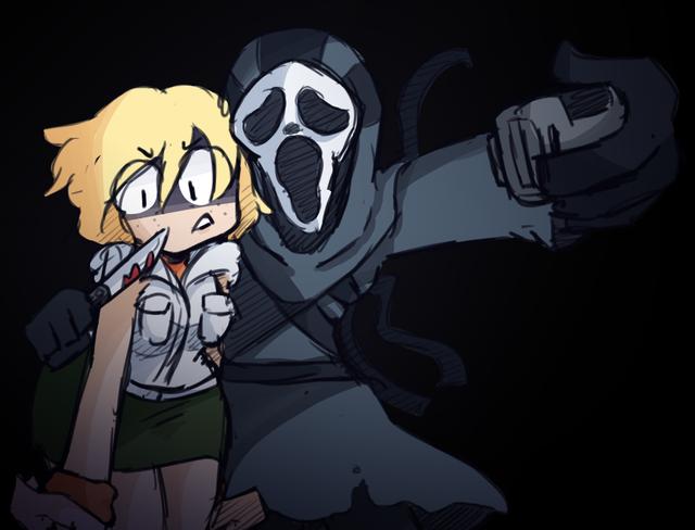 Heather made a new friend! (OC) deadbydaylight in 2020