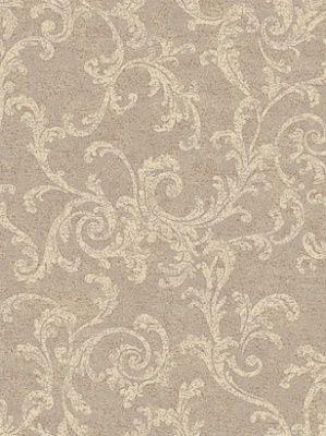 York Wallpaper Textured Scroll 2450 Per Roll Interiors Decor Royaldecor