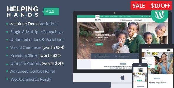 HelpingHands - Charity, Fundraising, Church \ NGO WordPress Theme - ngo templates
