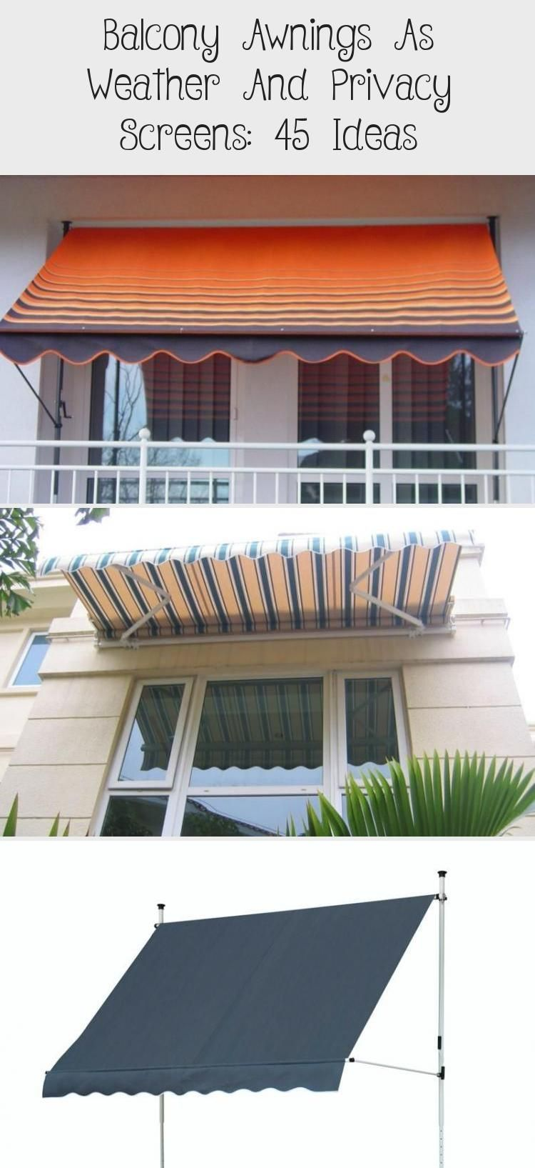 Balcony Awnings As Weather And Privacy Screens 45 Ideas Balconyprivacyscreen Balcony Awnings As Weather And Privacy Screens 45 Ideas Pergolaroof Bamboofenc Awning Privacy Screen Patio Privacy Screen