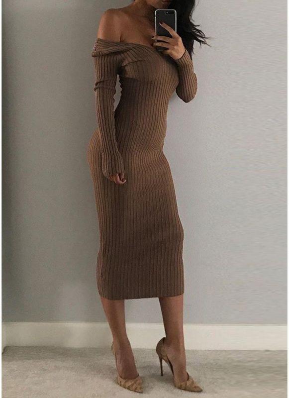 66da5a8e932e Calf Length Dress