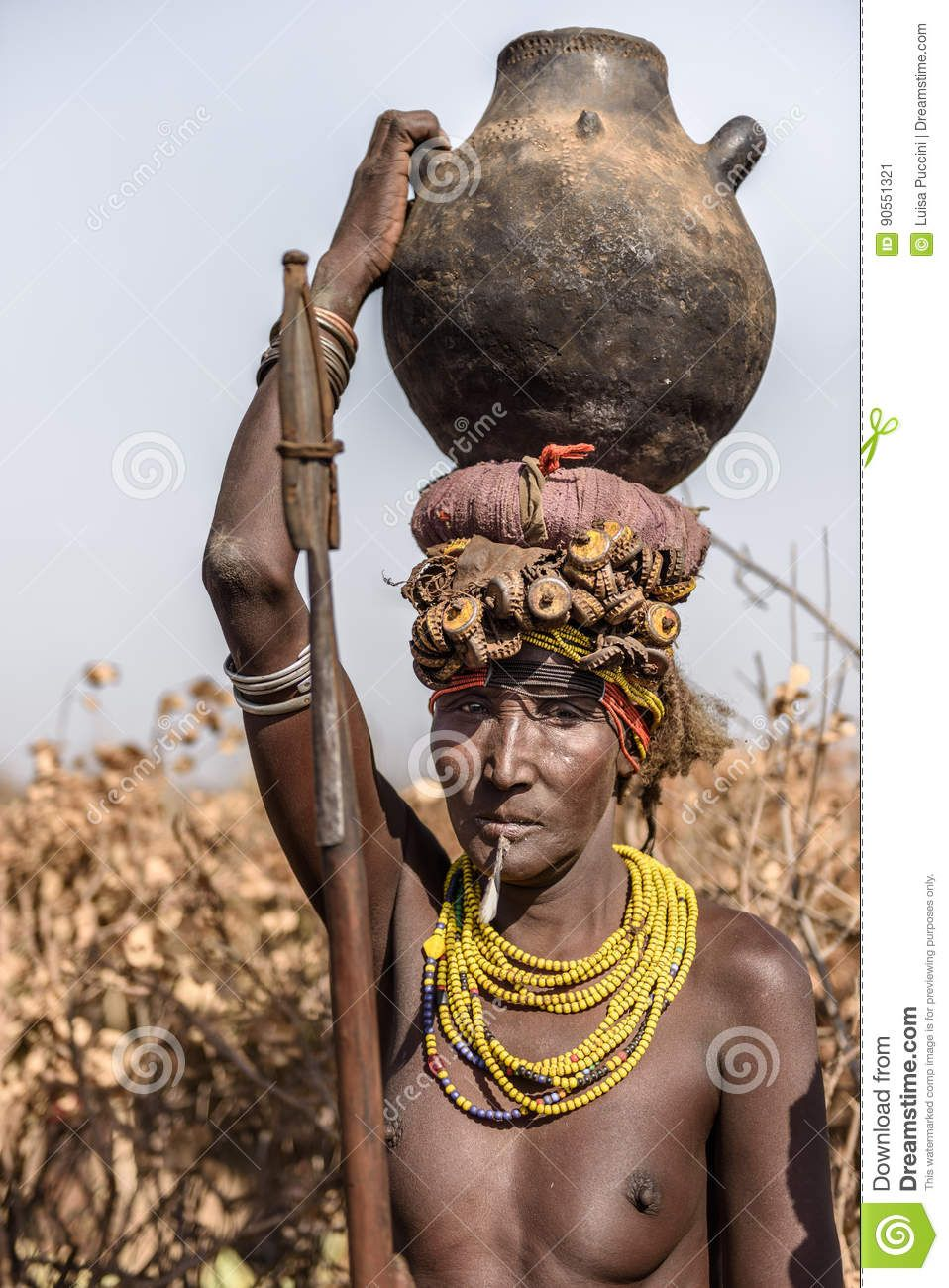 Africa . The Dassanech of Ethiopia live thousands of miles