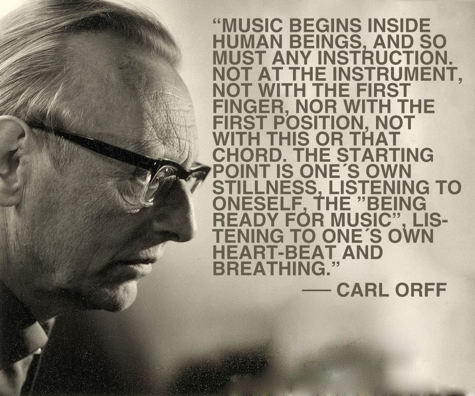 orff philosophy of music education