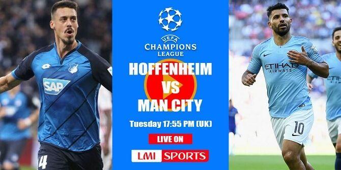 Hoffenheim Manchester City Live Stream