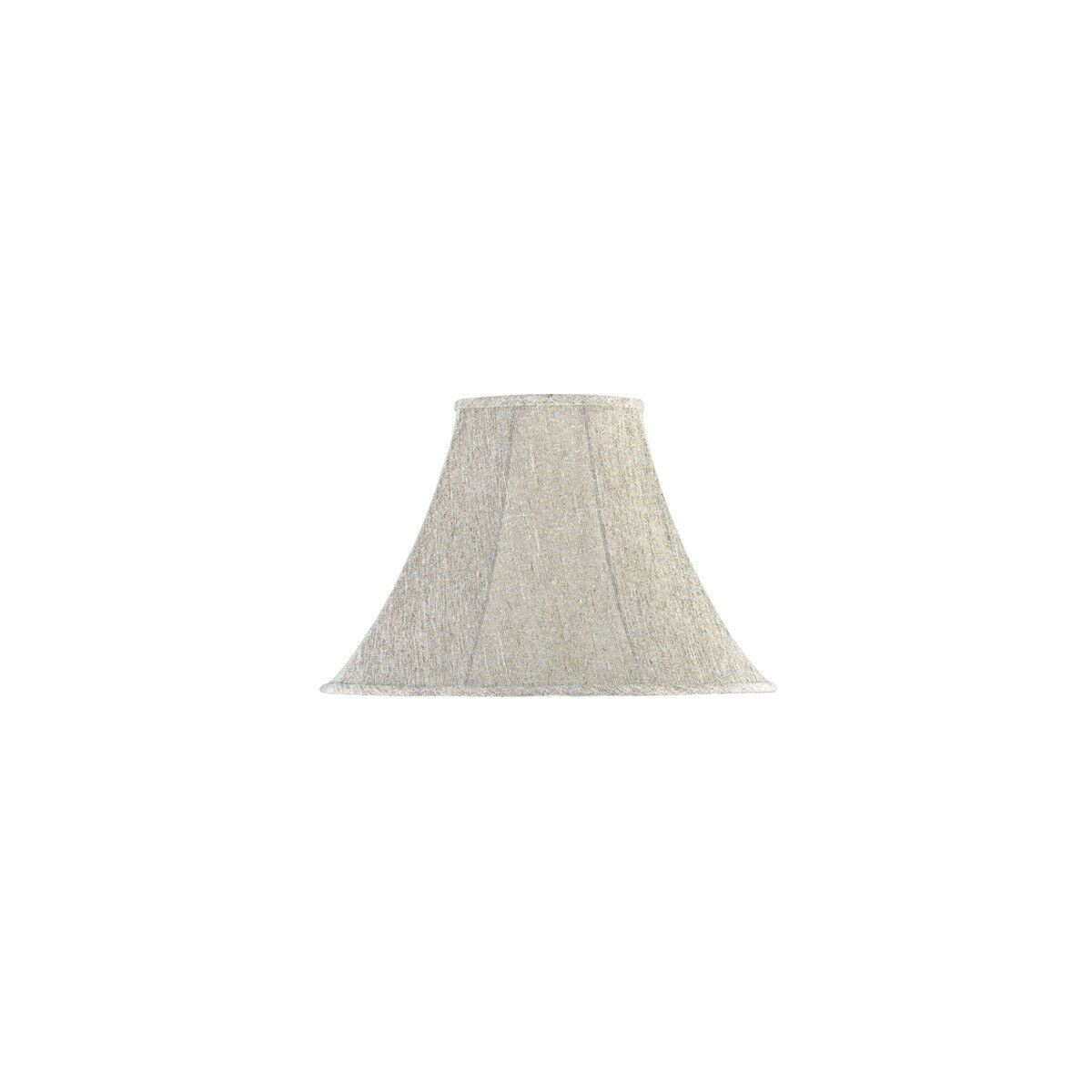 Cal Lighting Accessories Sh 7201 Bell Linen 18 Inch Shade Lamp