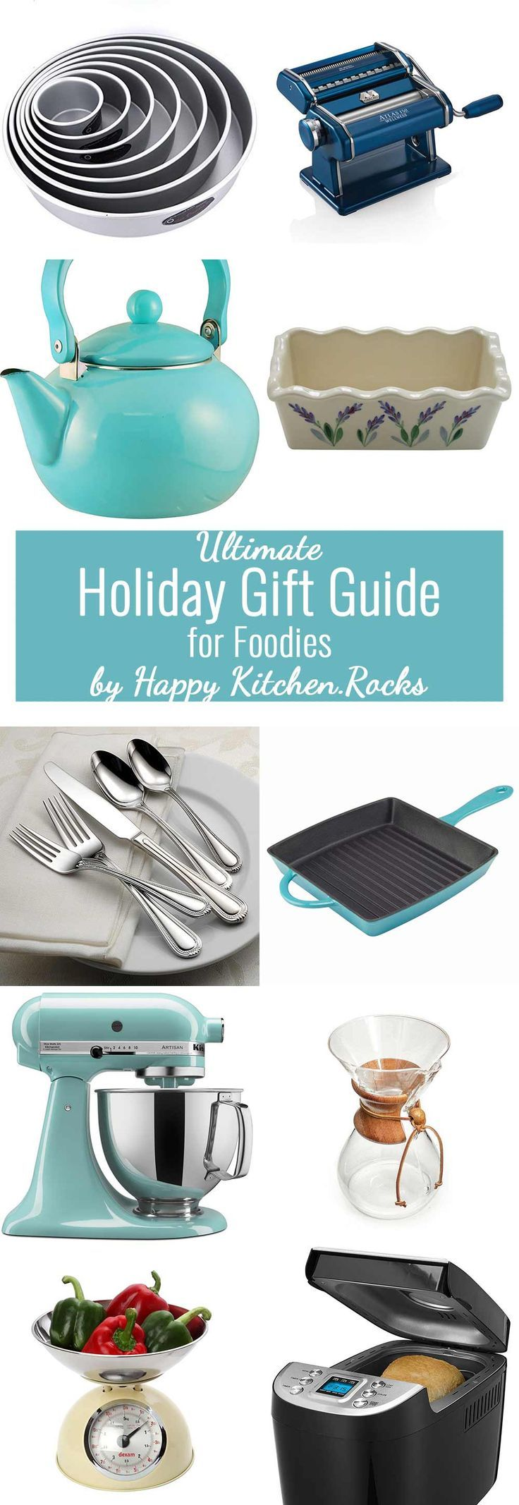 Ultimate Holiday Gift Guide for Foodies includes more than 46 items ...