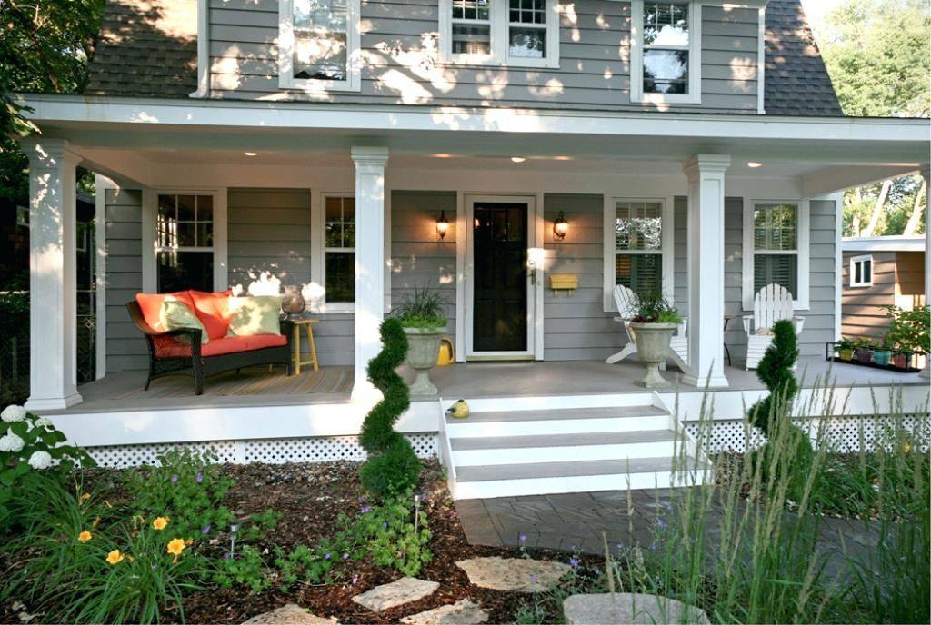 Related Image Front Yard Garden Design Porch Landscaping Front