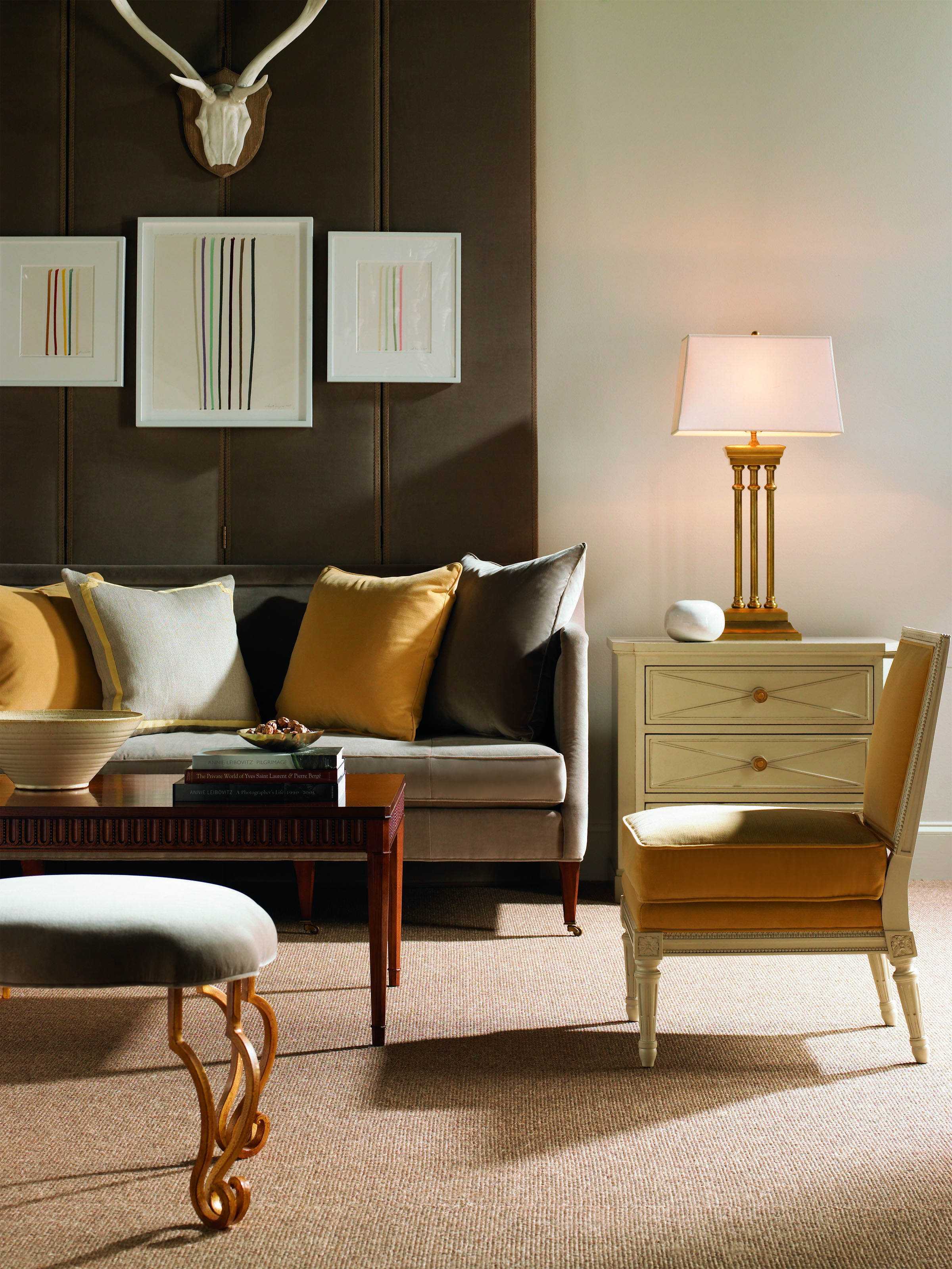 Southworth Sofa, Ainsley Chair, Knollwood Chest, Isabel