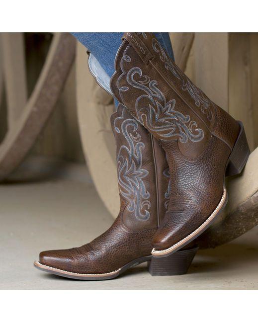 cf56458a13e Ariat Women's Legend Boot - Brown Oiled Rowdy | Ariat Boots | Boots ...