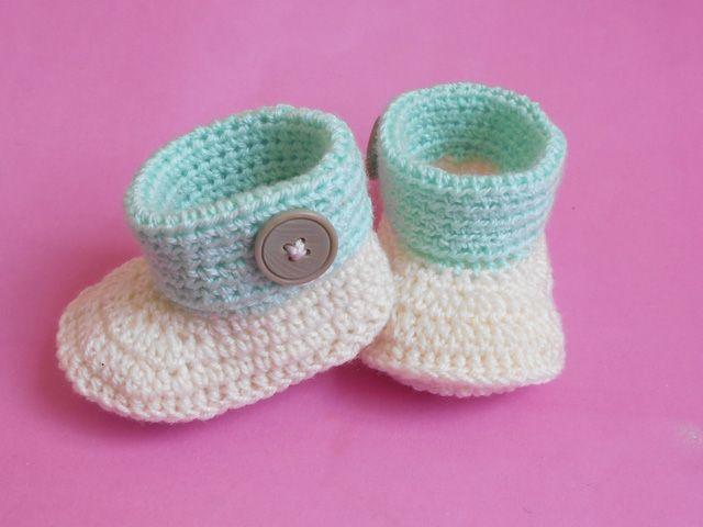 Pin de Bye bye monotony en dziecięce butki szydełkowe | Pinterest