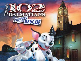 102 Dalmatians Puppies To The Rescue Dalmatian Puppy