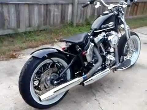 hd sportster with springer fork motorcycles motorcycle. Black Bedroom Furniture Sets. Home Design Ideas