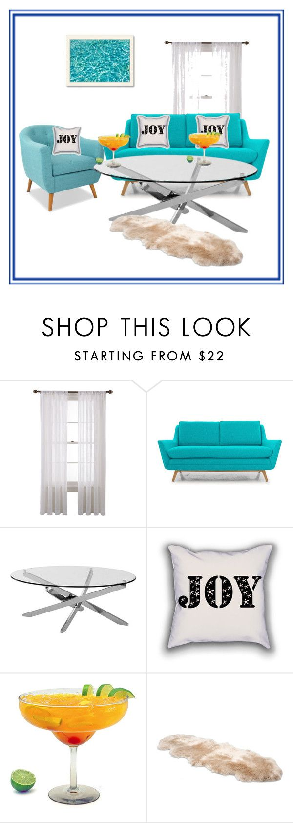 """Untitled #40"" by arijana-cehic ❤ liked on Polyvore featuring interior, interiors, interior design, dom, home decor, interior decorating, Martha Stewart, Joybird Furniture, UGG Australia i Americanflat"