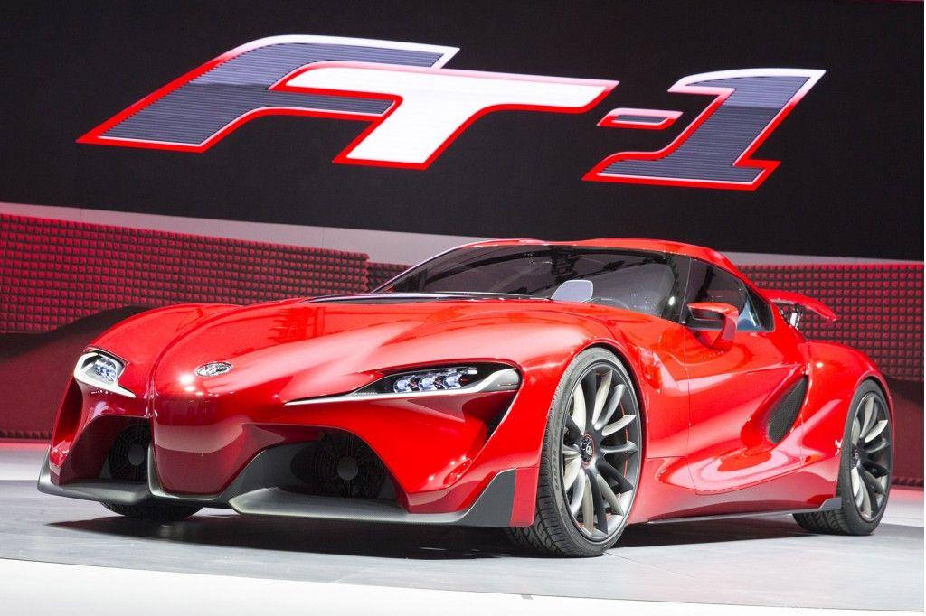 Das Innendesign des Toyota FT 1 2014