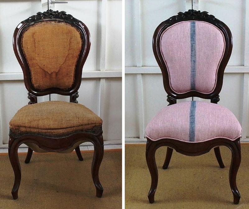 Restaurar una silla isabelina original es maravilloso for Restaurar muebles viejos antes y despues