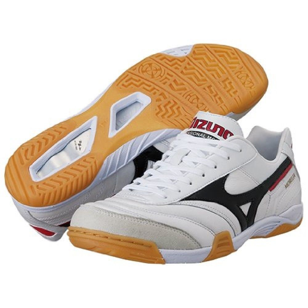 best website fb52d cb27b Mizuno JAPAN MORELIA IN White Soccer Futsal Shoes 12KF350 SIZE US 6 - 10 FS  free