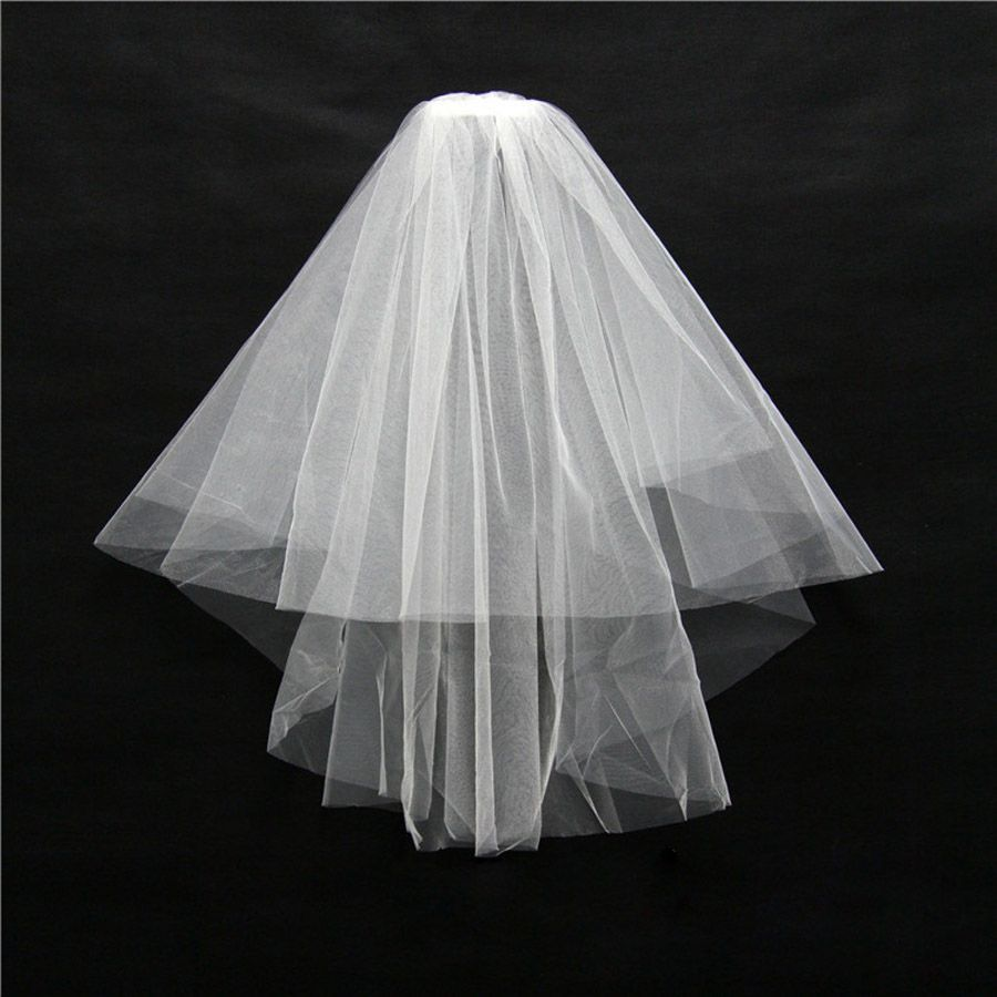 Cheap Bridal Veils Buy Quality Veil Directly From China With Comb Suppliers ZYLLGF Stock Simple Wedding Net