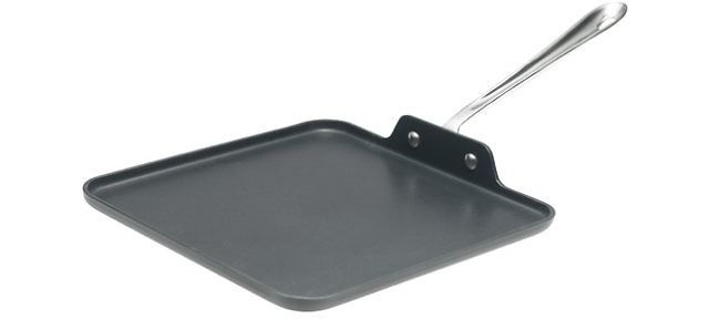 All-Clad 11-Inch Hard Anodized Aluminum Nonstick Square Griddle $24.99 (homeandcooksales.com)
