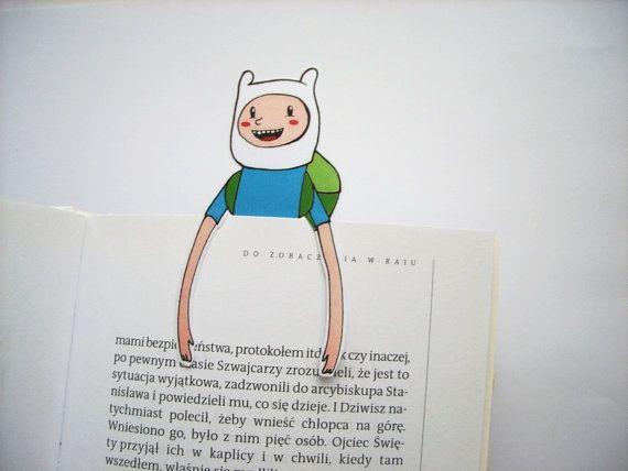 bookmark template finn the human adventure time by bignerdwolf