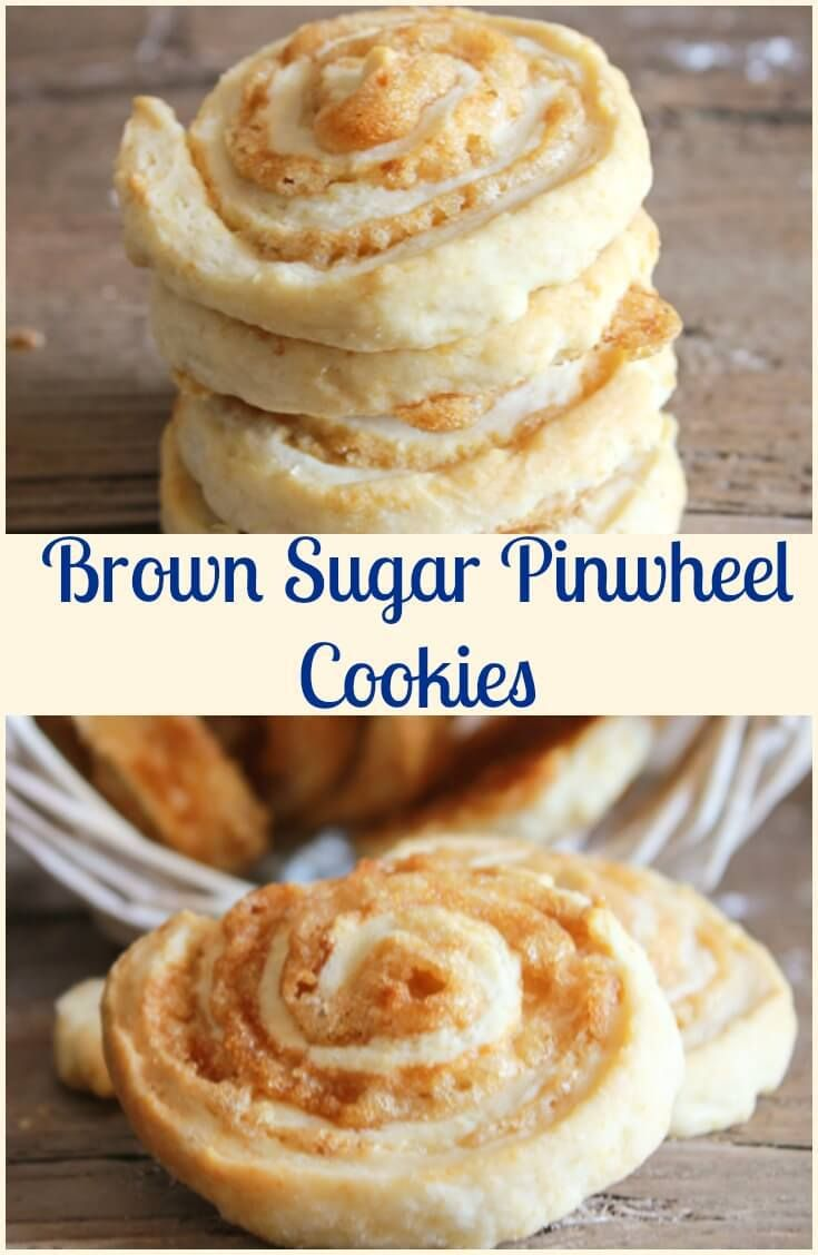 Brown Sugar Pinwheel Cookies A Delicious Fast And Easy Pastry Dough Cookie Recipe With