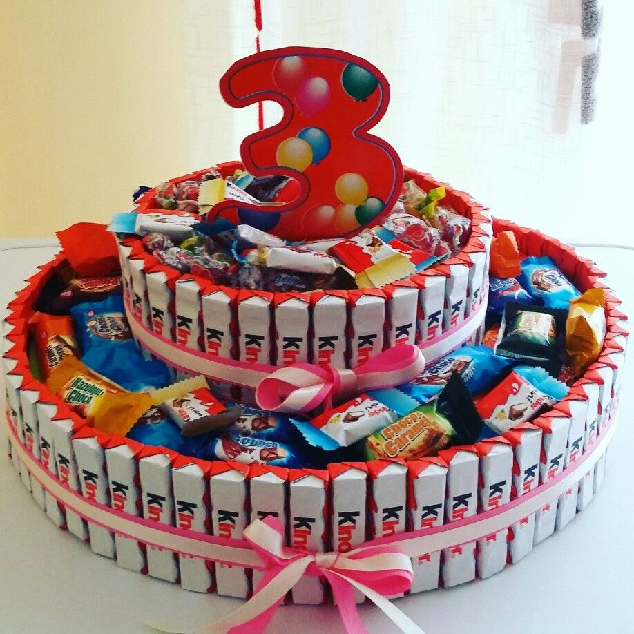 torta di barrette kinder