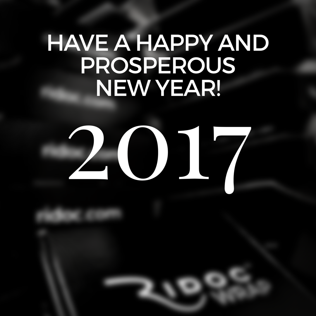 Hy New Year From All Of Us At Ridoc