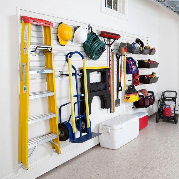 Garage and Hardware Storage System – White