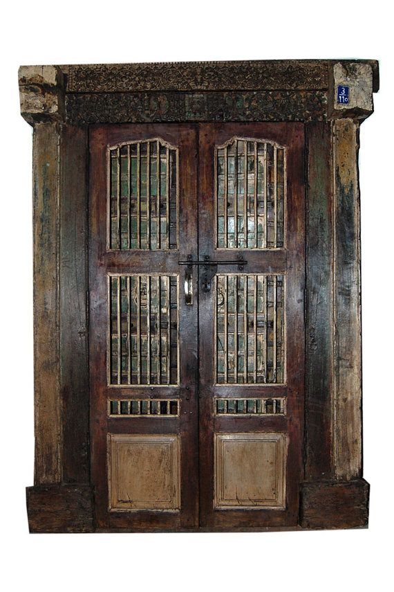 Antique Indian Screen Doors Hand Carved Haveli By Mogulgallery Spanish Style Interiors Home Decor