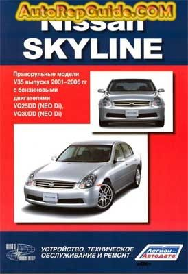 download free nissan skyline v35 2001 2006 repair manual image rh pinterest com 1995 Houston Skyline 1994 Skyline Manufactured Home