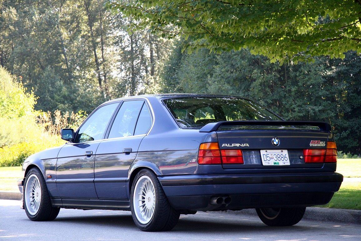 BMW Alpina B BiTurbo E Schwartzerdesscode Pinterest - 1990 bmw m5