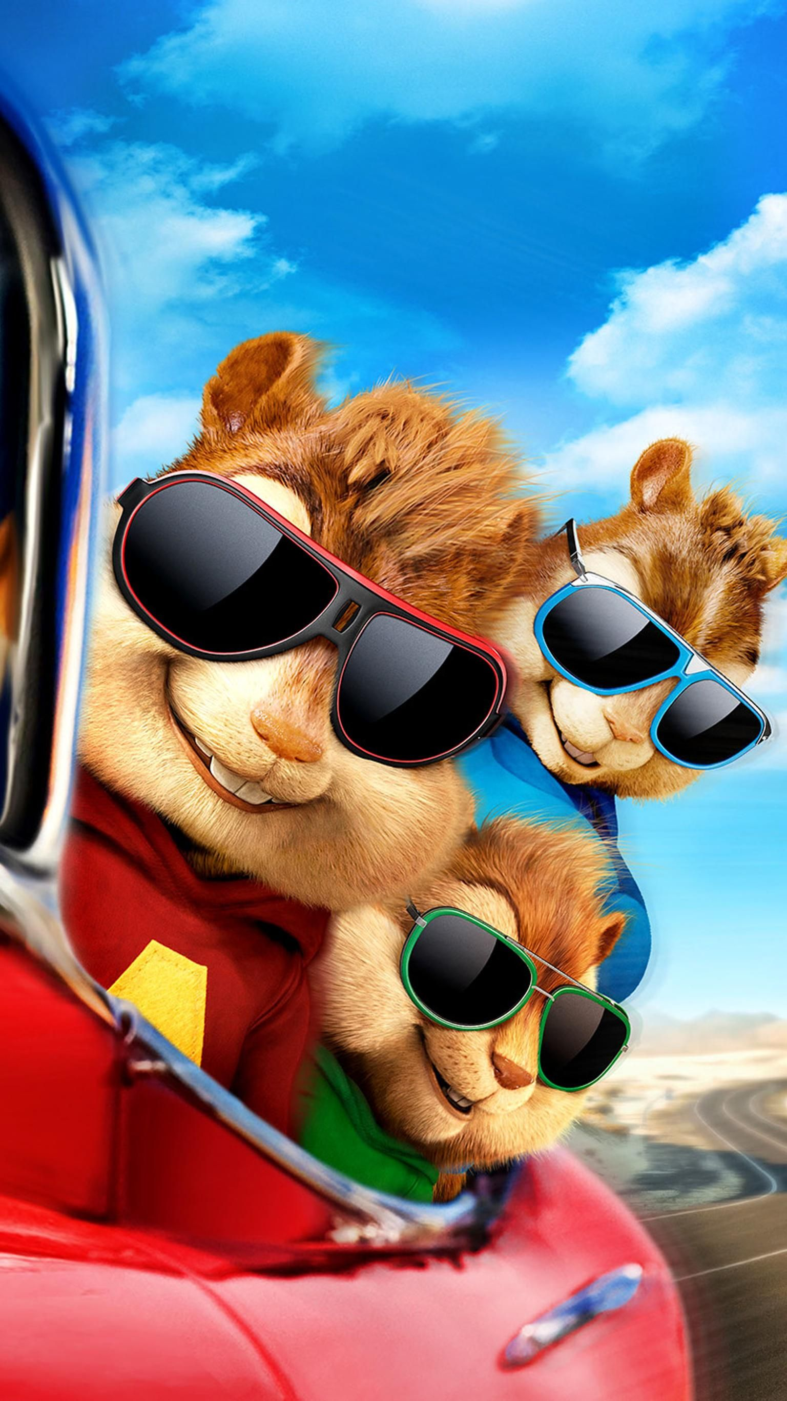 Alvin And The Chipmunks The Road Chip 2015 Phone Wallpaper Com