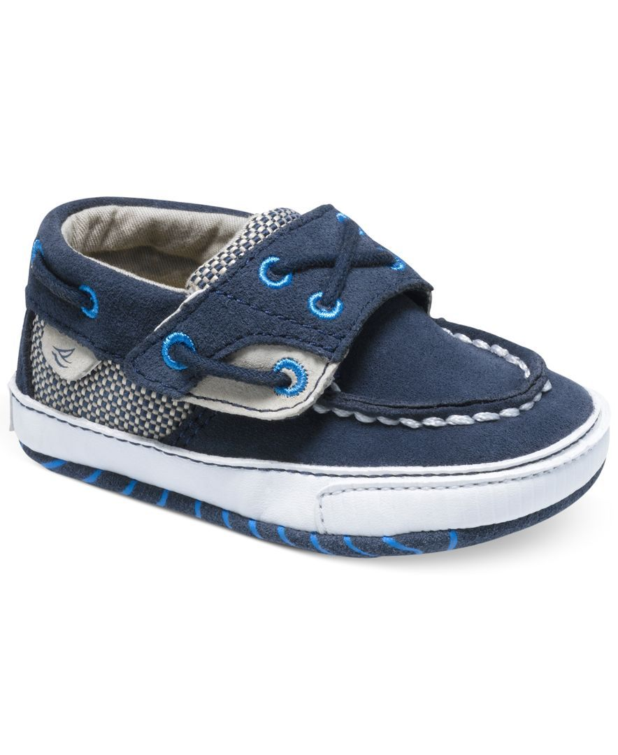 Crib for triplet babies - Sperry Top Sider Baby Boys Soft Sole Crib Shoes