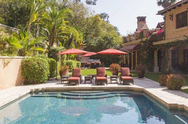 Extravagant Italian Villa in Beverly Hills, California Estate