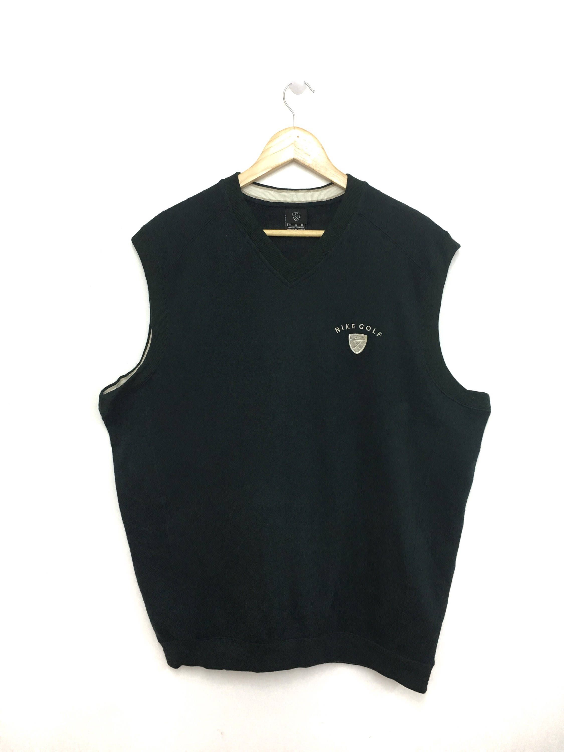 055172c866dd6 Nike golf tank top embroidery logo sportswear size black color jpg  2250x3000 The golf tank