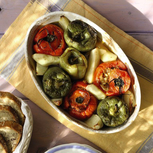7 ikarian recipes for longevity health zone diet stuffed pepper 7 ikarian recipes for longevity health forumfinder Image collections